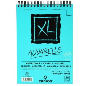 Bloco Canson XL Aquarela 300g  A-5 20fls