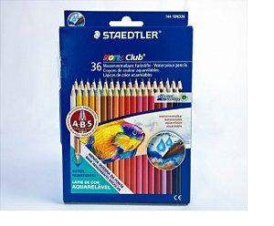 Lápis Cor Staedtler Noris Club Aquarelável 36 cores