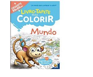 Livro-Tapete para Colorir: Mundo Todolivro