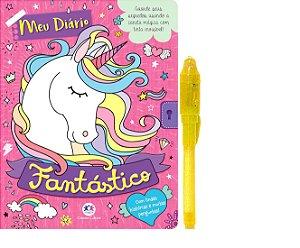 Meu diário fantástico - Com caneta especial - Ciranda Cultural