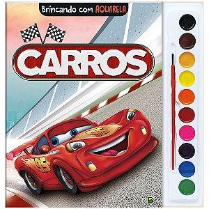 Brincando com Aquarela: Carros - Todolivro