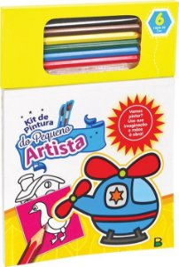 Kit de Pintura do Pequeno Artista: Amarelo - Todolivro