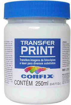 Transfer Print Pote 250ml Corfix ref:27250.3