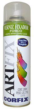 Verniz Fixador Spray Artfix Fosco 300ml Corfix Ref.: 70010.1
