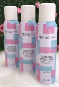 Fixador de Maquiagem Spray - Max Love*