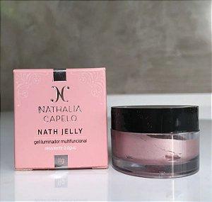 Nath Jelly Iluminador Cremoso - Cor Rose Nathalia Capelo