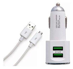 Carregador Veicular Turbo Duplo USB para Iphone - Kaidi