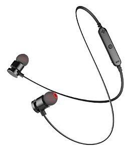 Fone de Ouvido Sports Bluetooth KD-901 Preto - Kaidi