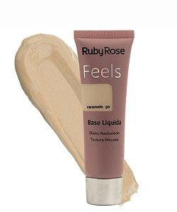 Base Liquida Feels Caramelo 50 - Ruby Rose*