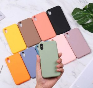 Capa Iphone XR Silicone Colors*