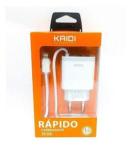 Carregador Celular Kaidi Kd-321a Rapido 3.1a Para iPhone*