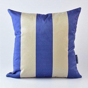 Almofada Náutica Azul Listrado