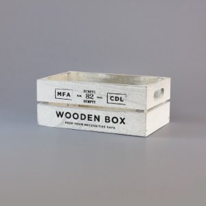 Caixa Wooden Box Pequena