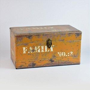 Baú Vintage Rústico Médio