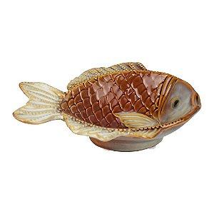 Petisqueira Peixe em Cerâmica