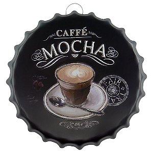 Decorativo Tampa Coffee Mocha