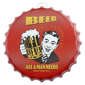 Decorativo Tampa Beer Man
