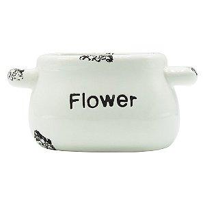 Vaso Flower Redondo Jg C/12