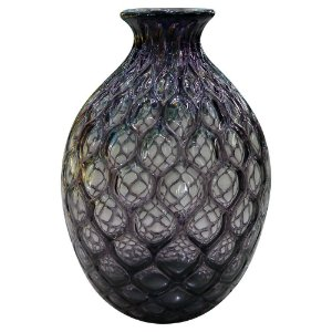 Vaso de Vidro Finotatto Roxo