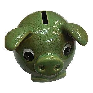 Cofre Porco Verde