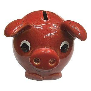 Cofre Porco Vermelho