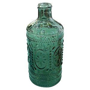 Vaso Verde de Vidro