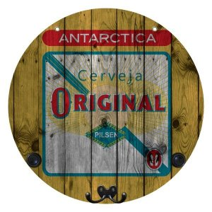 Placa Original com Cabideiro