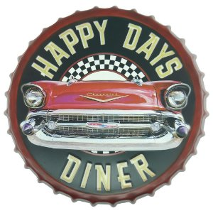 Tampa Decorativa Happy Days Dinner