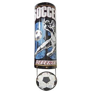 Decorativo em Metal Futebol