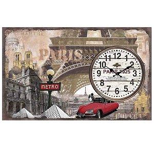 Relógio de Parede Paris