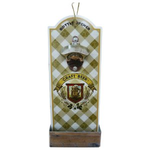 Abridor de Garrafa de Madeira Craft Beer