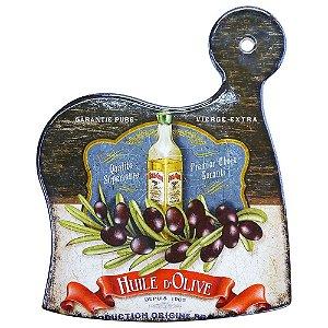 Tag de Cerâmica Preto Olive