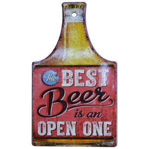 Tag de Cerâmica Best Beer