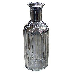 Vaso de Vidro Preto Médio