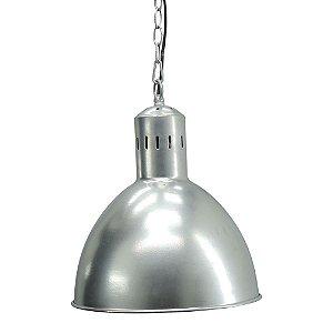 Luminária Pendente Prata