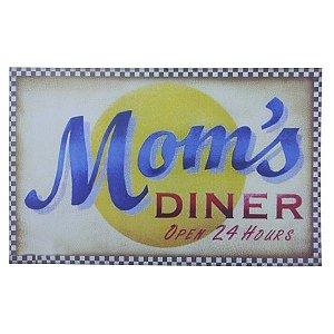 Placa Mom`S Diner