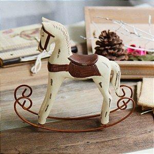 Enfeite Cavalo de Balanço Rústico