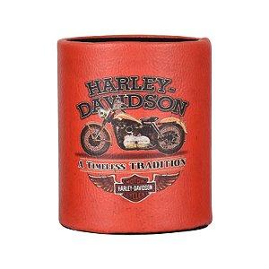 Porta Objetos Laranja Harley
