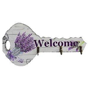 Porta Chaves Welcome Lavanda