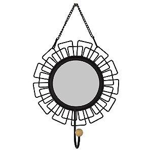 Cabideiro Espelho Sol