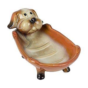 Saboneteira Cachorro Laranja
