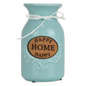 Vaso Happy Home Azul