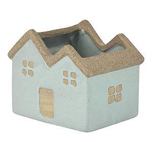Vaso de Cerâmica House Verde Mod. 3