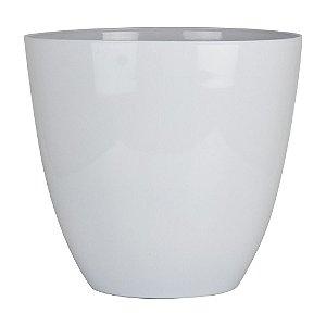 Vaso Plástico Prestige Branco em Plástico