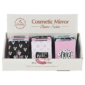 Mini Espelho Kiss & Love (venda unitária)