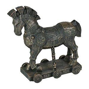 Enfeite Cavalo de Tróia em Resina