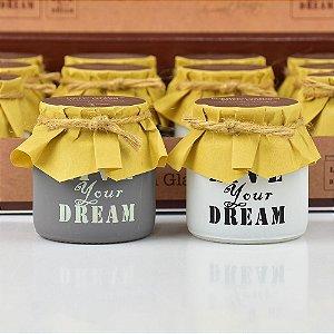 Vela Perfumada Live Your Dream Peq. em Vidro (Unitário)