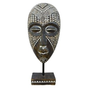 Mascara Tribal Africana Grande