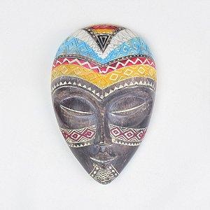 Máscara Africana em Resina Pequeno