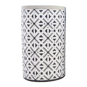 Vaso Formas Geométricas em Cerâmica
